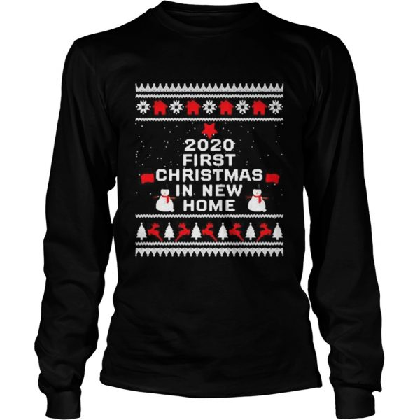 2020 first Christmas in new home  Long Sleeve