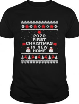 2020 first Christmas in new home shirt