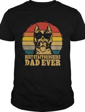 Best Staffordshire Dad Ever Vintage shirt