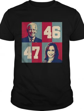Biden Harris 2020 46 47 President of US Joe Kamala shirt