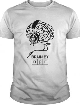 Brain By NPR shirt