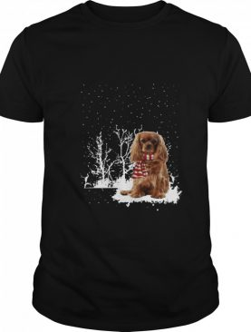 Cavalier King Charles Spaniel Merry Christmas shirt
