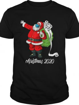 Christmas 2020 Santa Mask Santa Bag Toilet Paper shirt