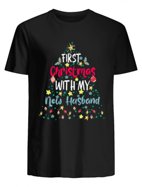 Christmas With My New Husband Tee Xmas 2020 Party shirt