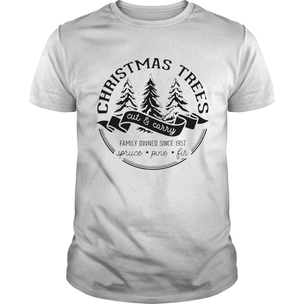 Christmas trees cut and carry family owned since 1957 spruce pine fir  Unisex