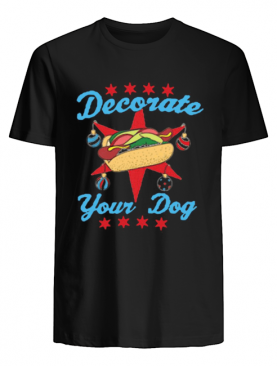 Decorate Your Dog Mery Christmas shirt