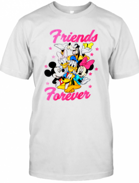 Disney Toddler Girls Mickey And Friends Short Sleeve T-Shirt