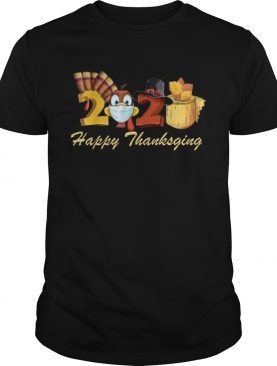Happy Thanksgiving 2020 Turkey Wearing Mask Toilet paper shirt