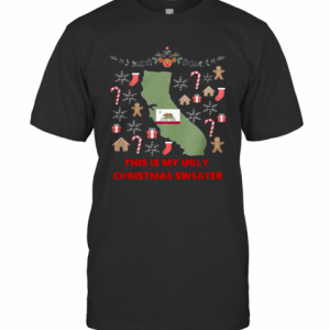 Houston Texans This Is My Ugly Christmas T-Shirt Classic Men's T-shirt
