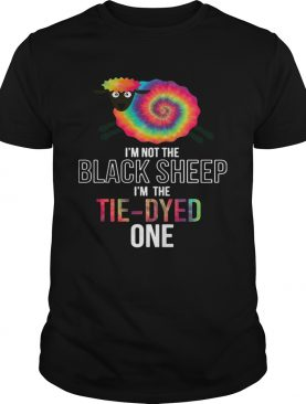 Im Not The Black Sheep Im The TieDyed One shirt