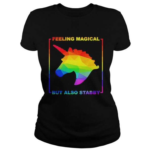 LGBT unicorn feeling magical but also stabby  Classic Ladies