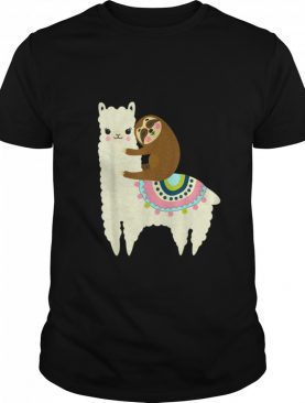 Llama And Sloth Best Friends Forever shirt