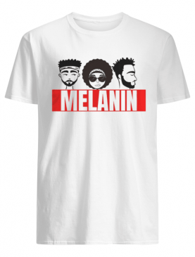 Melanin Poppin With African Pride and Black Lives Matter shirt
