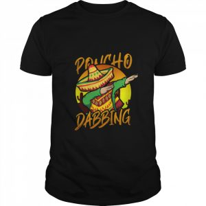 Mexican Poncho Dabbing Mexican  Classic Men's T-shirt