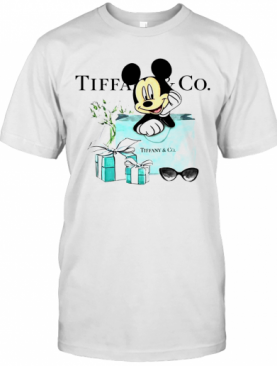 Mickey Mouse Tiffany And Co T-Shirt