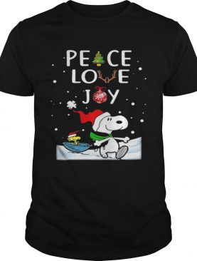 Peace Love Joy Christmas shirt