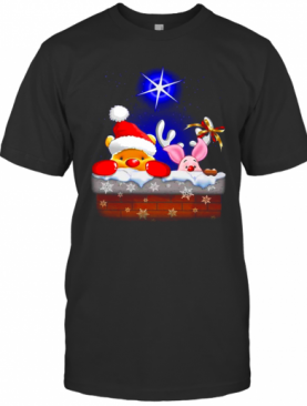 Pooh And Piglet Christmas T-Shirt