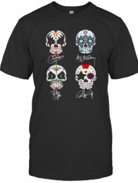 Sugar Skull The Space Ace The Demon The Catman The Starchild Signatures T-Shirt