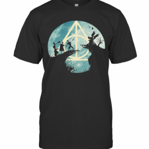 Tale Of Three Brothers Hogwarts T-Shirt Classic Men's T-shirt