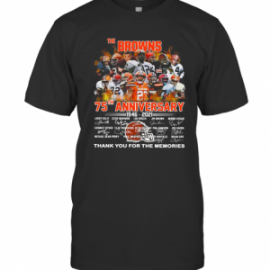 The Browning 75Th Anniversary 1946 2021 Thank You For The Memories T-Shirt Classic Men's T-shirt