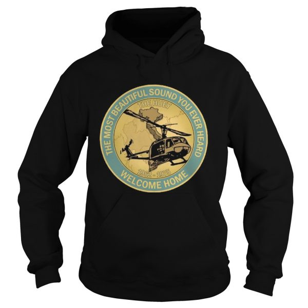 The Most Beautiful Sound Ever Heard Welcome Home  Hoodie