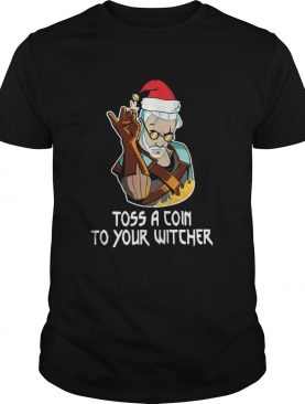 Toss A Coin To Your Witcher Christmas shirt