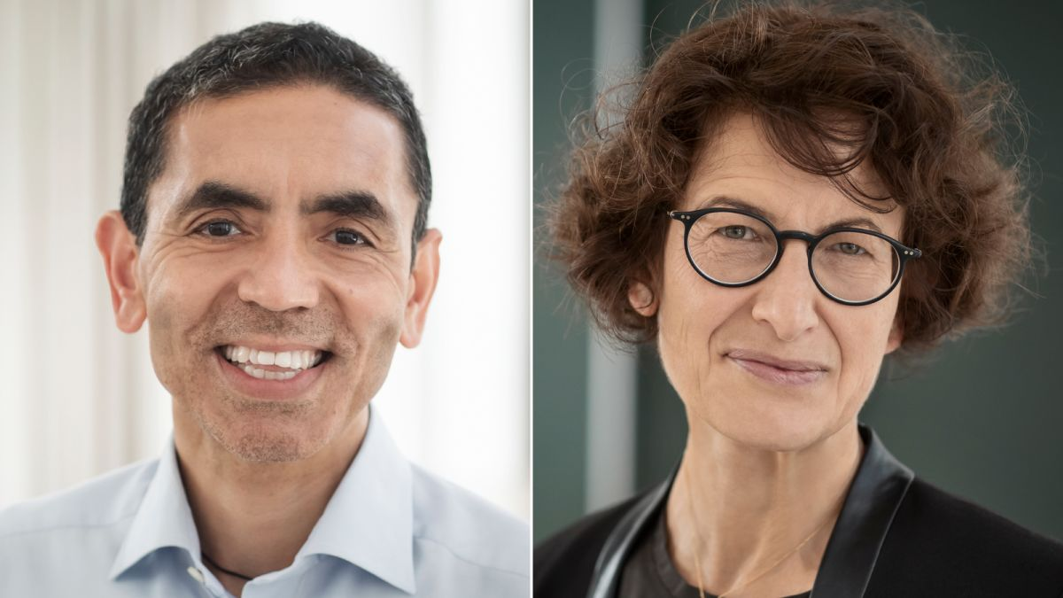 The scientists who developed the Pfizer/BioNTech Covid-19 vaccine are a Turkish-German power couple