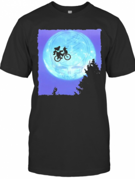 Bear Cycling The Moon Grateful Dead T-Shirt