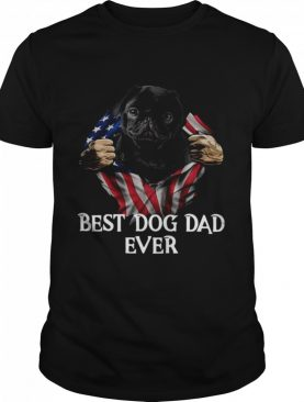 Blood inside Me American flag best dog dad ever shirt