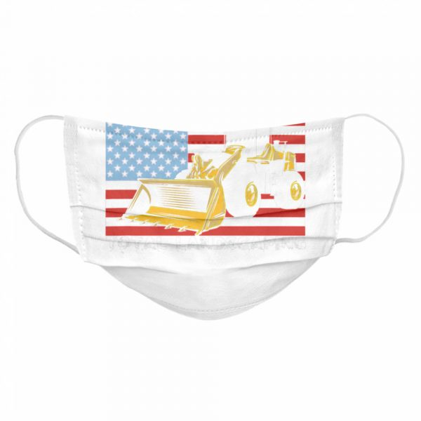 Four Season Total Landscaping American flag  Cloth Face Mask