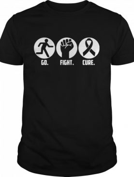 Go Fight Cure Breast Cancer Awareness Month shirt
