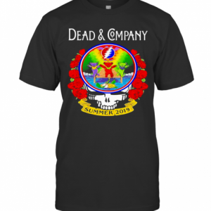 Grateful Dead And Company Dancing Bear Roses Summer 2019 T-Shirt Classic Men's T-shirt