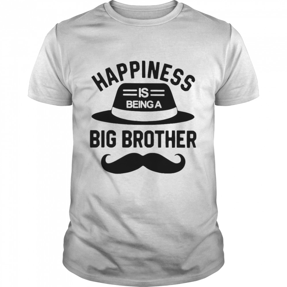 Happiness Is Being A Big Brother  Classic Men's T-shirt