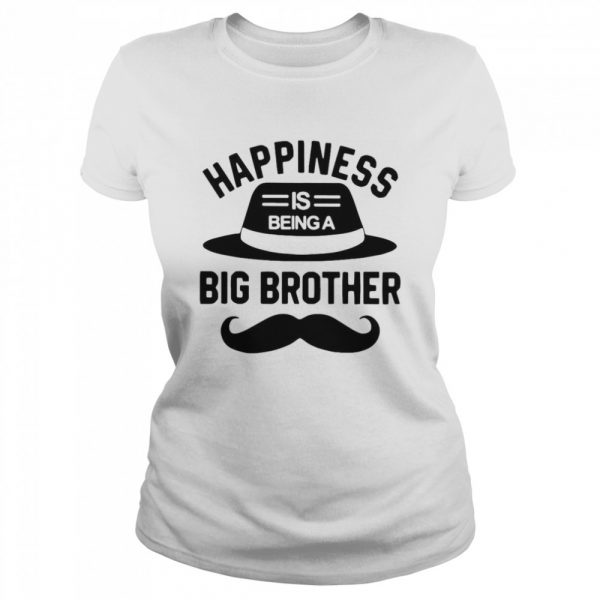 Happiness Is Being A Big Brother  Classic Women's T-shirt