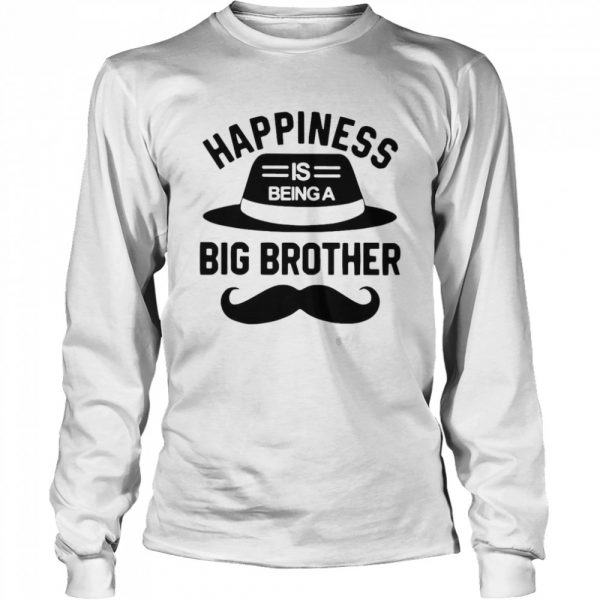 Happiness Is Being A Big Brother  Long Sleeved T-shirt