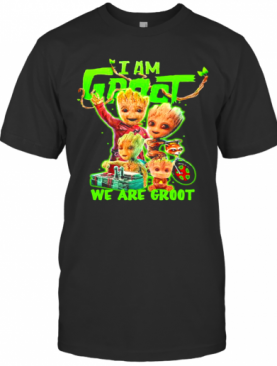 I Am Groot We Are Groot T-Shirt