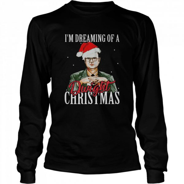 Im dreaming of a dwight christmas  Long Sleeved T-shirt