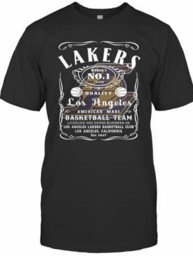 Los Angeles Lakers 2020 World'S No 1 Team Quality American Made Basketball Team T-Shirt
