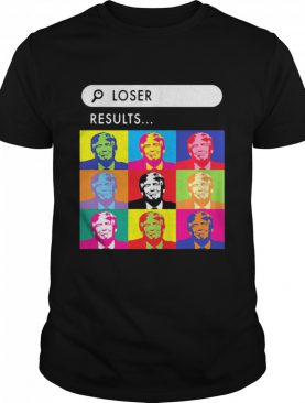 Loser Resuits Search Donald Trump Andy Warhol shirt