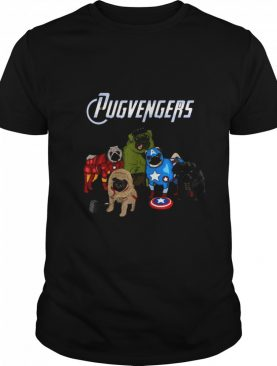 Marvel Pug Dog Pugvengers shirt