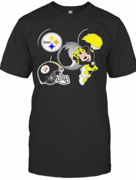 Minnie Mouse Dance Steelers 2021 Champions T-Shirt