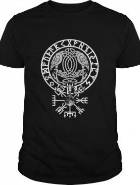 Pagan Norse Gift Design For Crow Fans Pullover shirt