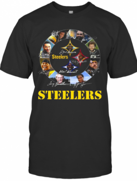 Pittsburgh Steelers NFL Team Signatures T-Shirt