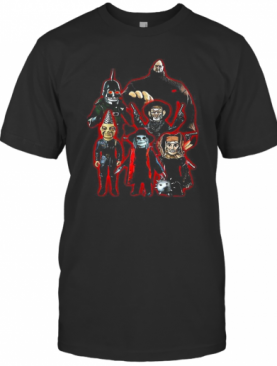 Puppet Master Horror Movie 80S Blade Pin Head Torch Jester Drill T-Shirt