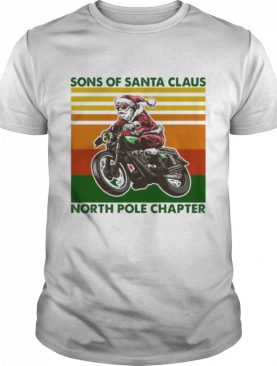 Sons of santa claus north pole chapter vintage shirt