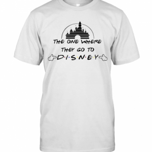 The One Where They Go To Disney T-Shirt Classic Men's T-shirt