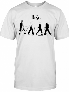The Roses Abbey Road Schitts Creek T-Shirt