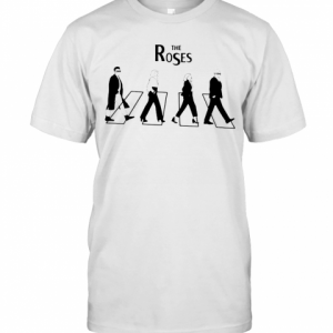 The Roses Abbey Road Schitts Creek T-Shirt Classic Men's T-shirt