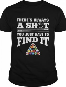 There's Always A Shit Billiard You Just Have To Find It Science Chemistry shirt