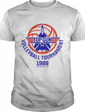 Top Gun Volleyball Tournament 1986 Fightertown Usa shirt
